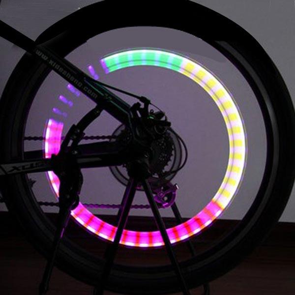 fiets spaak ventiel led verlichting