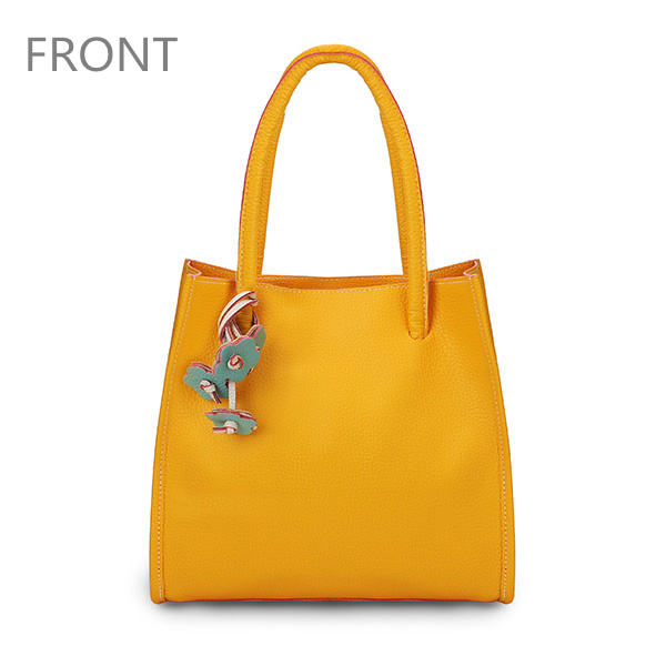 Front View Show of Women Color PU Leather Bag