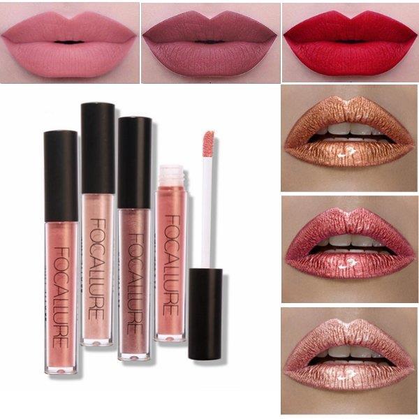 Metallic Lipstick Gloss Shopvanalleswat Nl