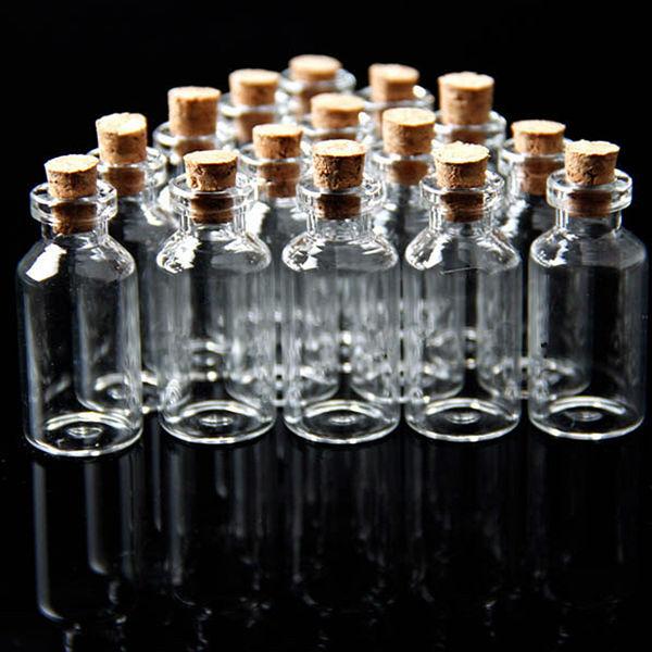 Clear Wishing Glass Bottles