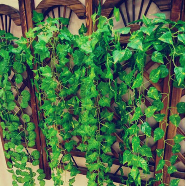 garden artificial ivy leaves